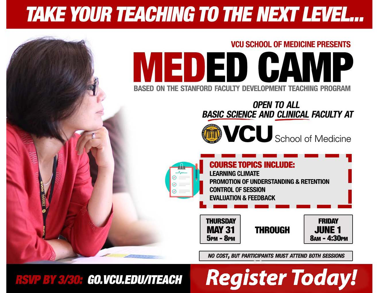 MedEd Camp-May 31 through June 1