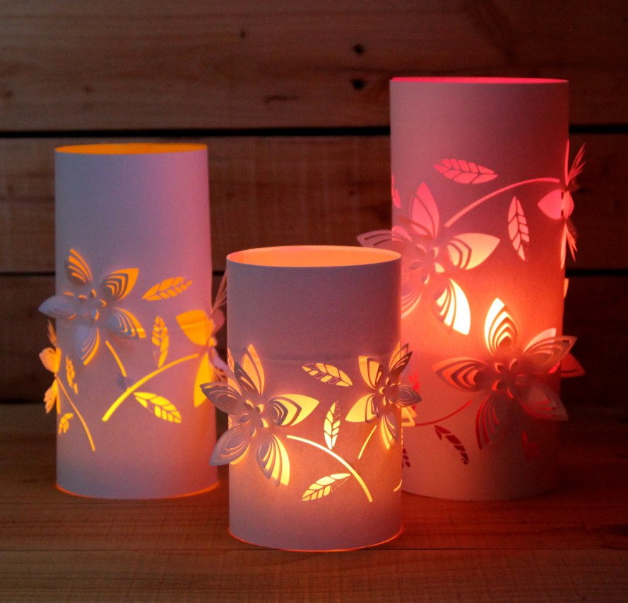 Water Bottle Lantern Craft