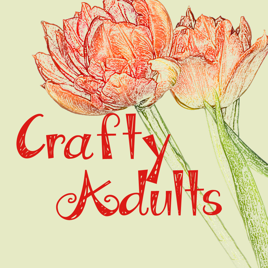 Crafty Adults: Quilling Flowers