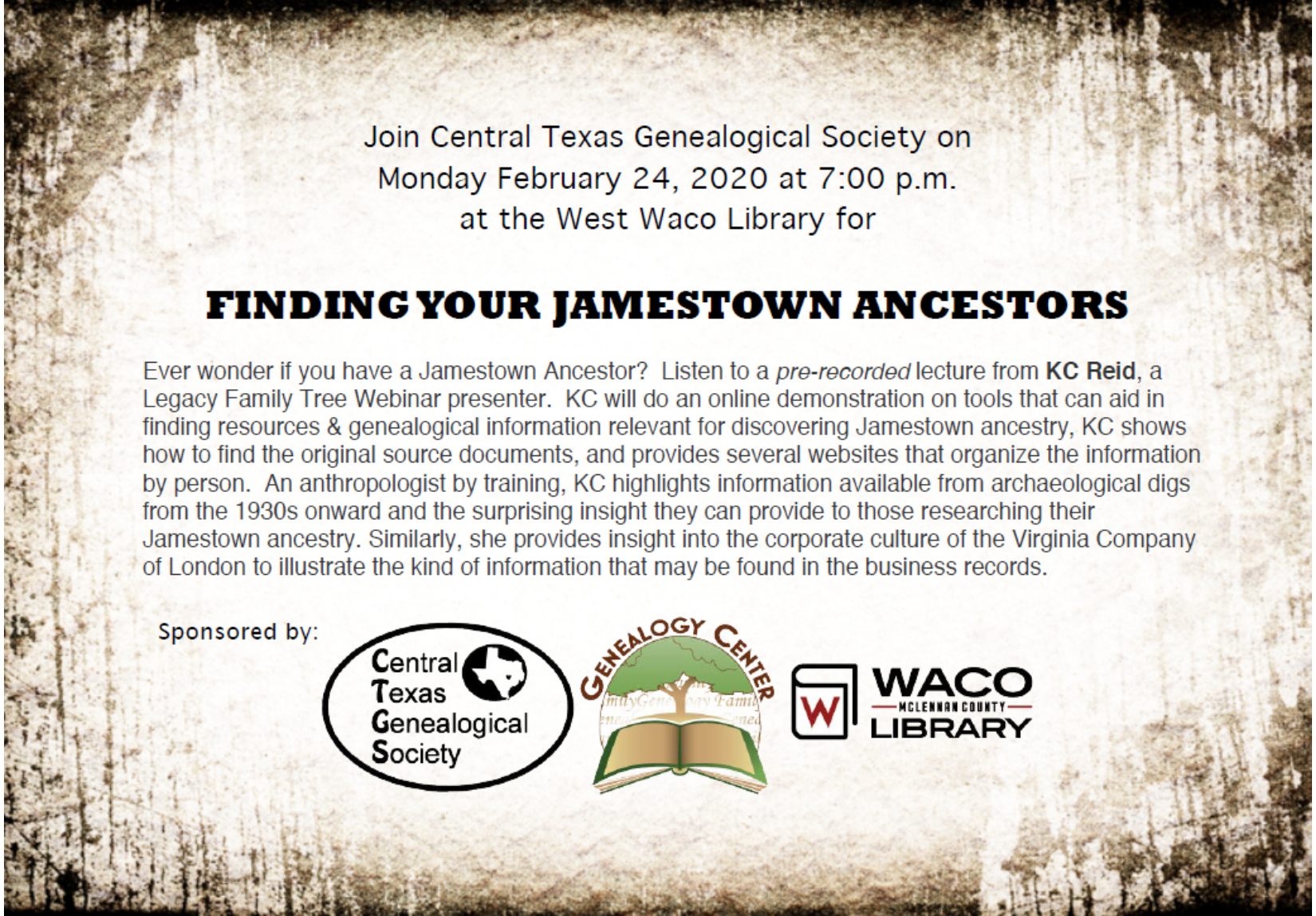 Finding Your Jamestown Ancestors