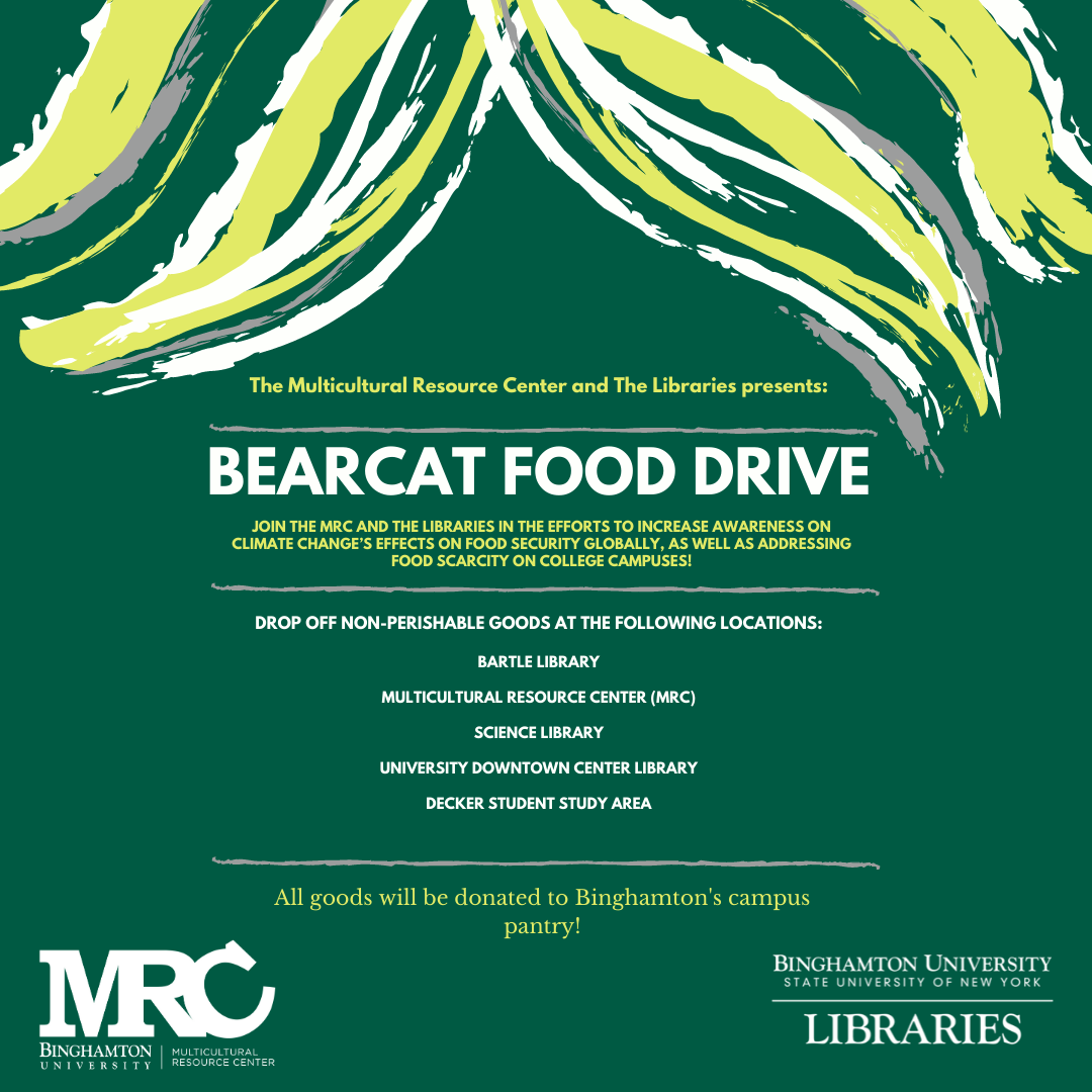 Bearcat Food Drive!