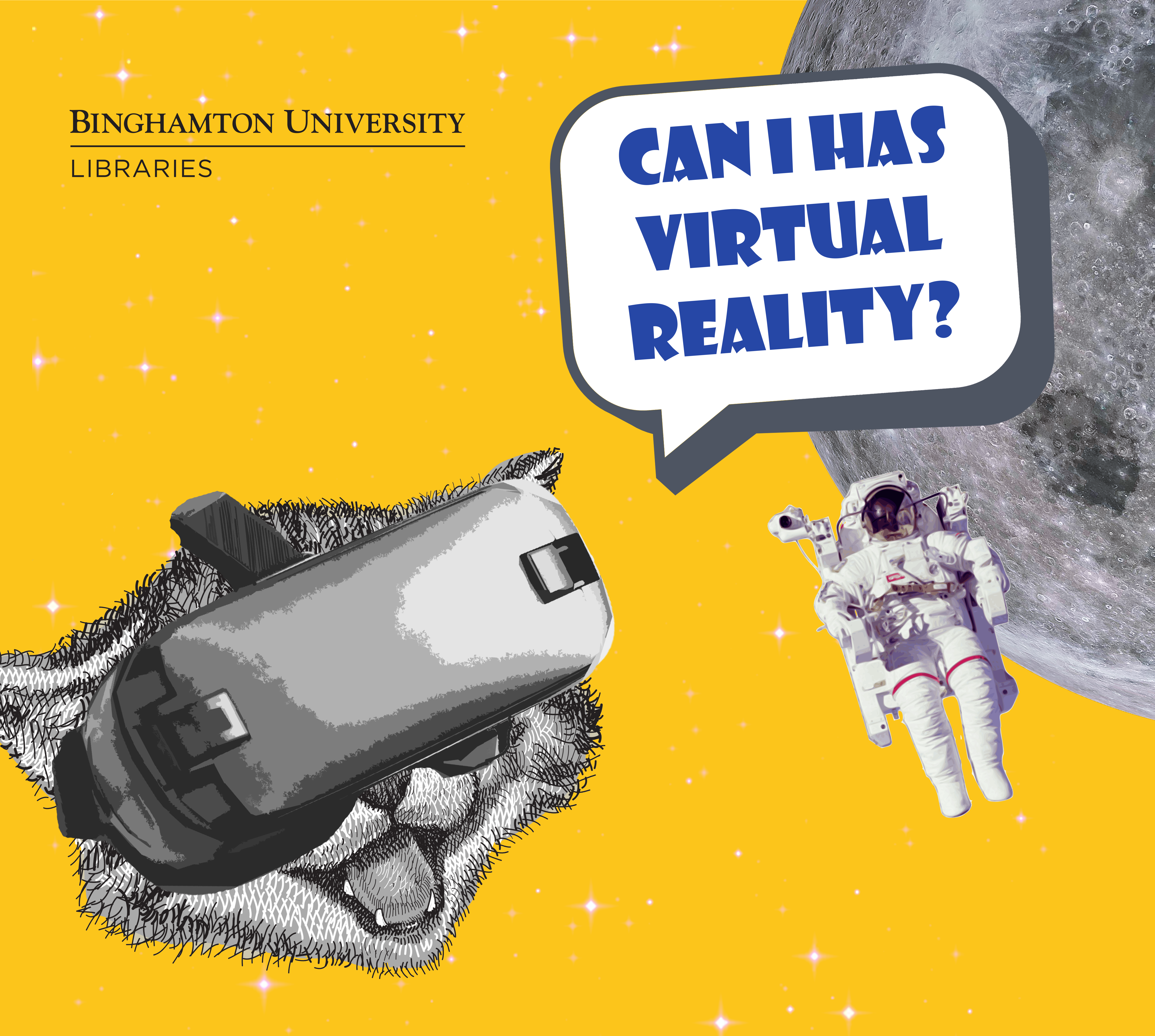 Can I Has Virtual Reality? Science Library Exhibit Grand Opening & VR Open House
