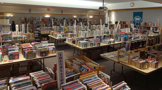Friends of the Library Book Sale--Half-Price Sale!