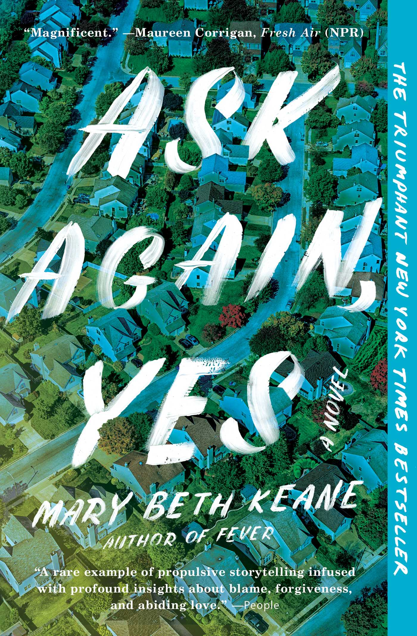 Virtual Book Discussion: ASK AGAIN, YES by Mary Beth Keane