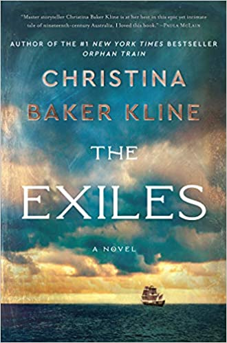 Virtual Book Discussion: THE EXILES by Christina Baker Kline