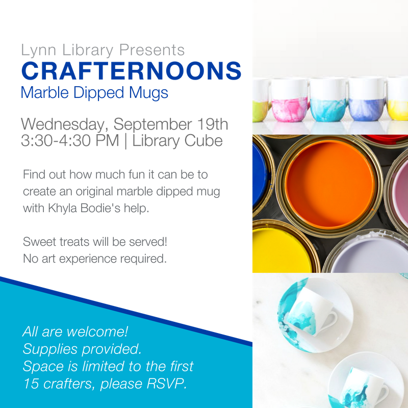 Crafternoons at the Library