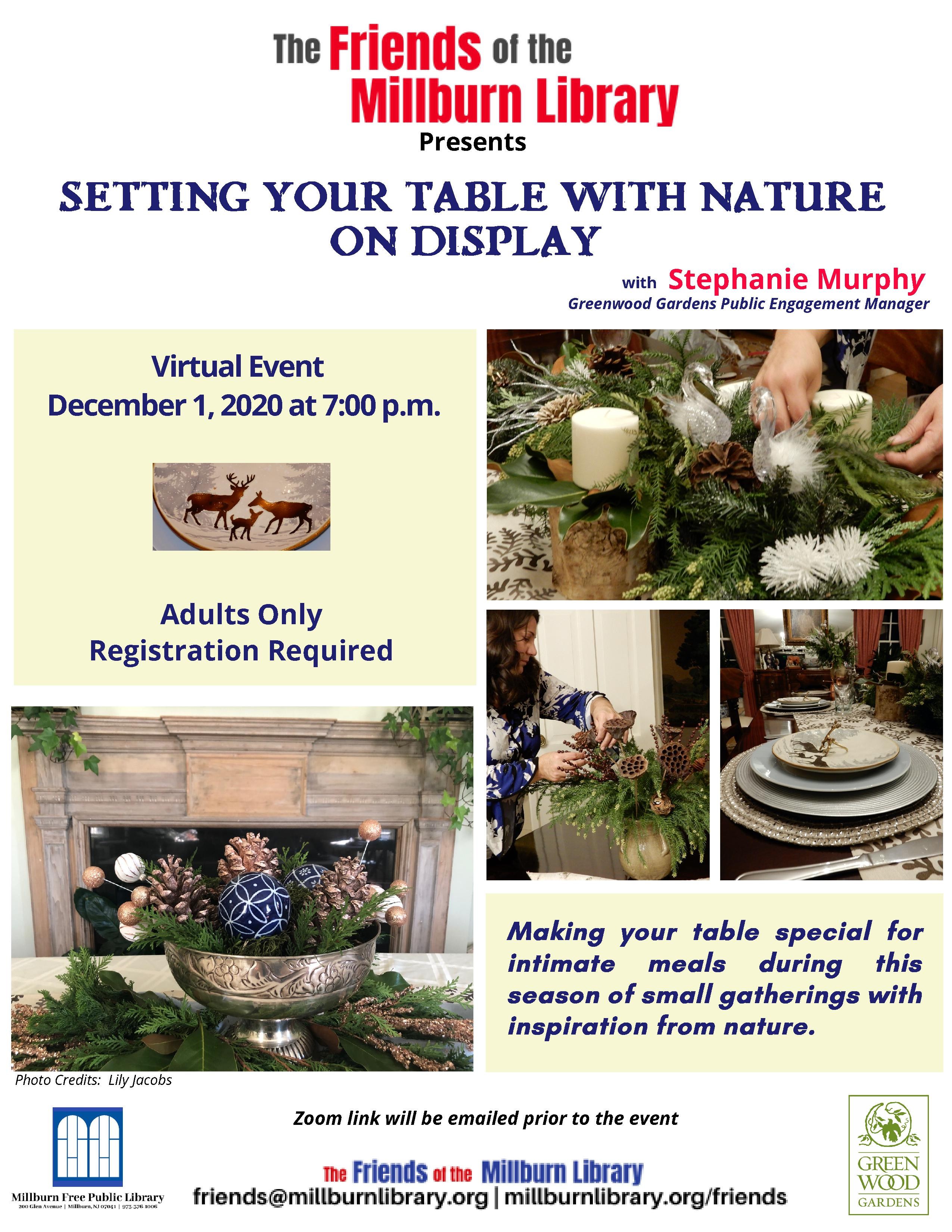 Tablescaping with Greenwood Gardens