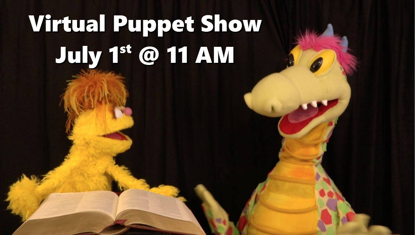 Dewey the Dragon Virtual Puppet Show