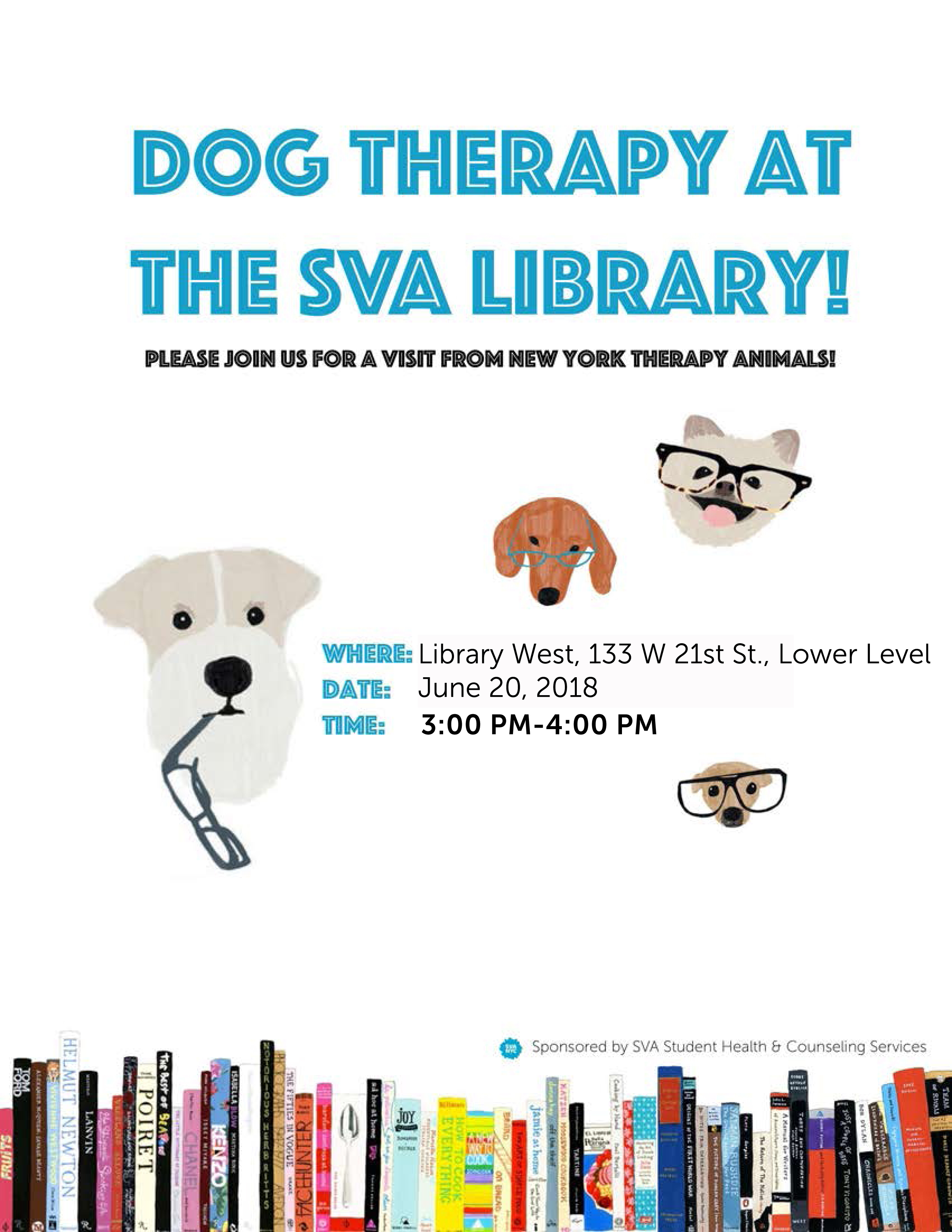 Dog Therapy at Library West