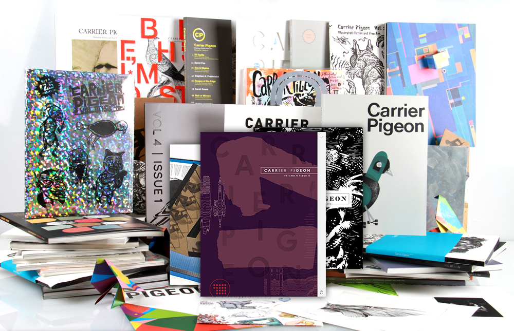 Carrier Pigeon Magazine at SVA Library West