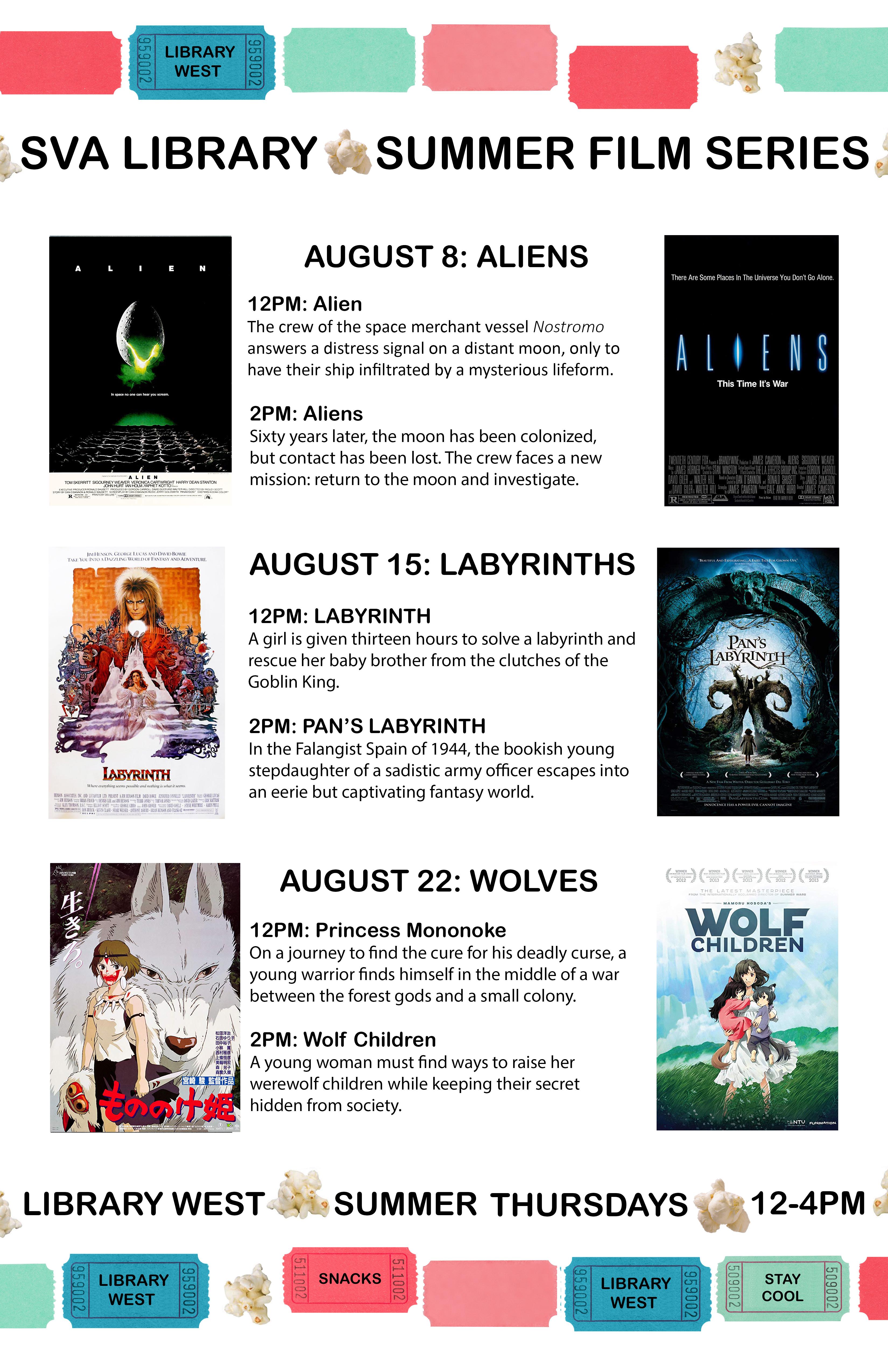 Film Screening: Labyrinth & Pan's Labyrinth