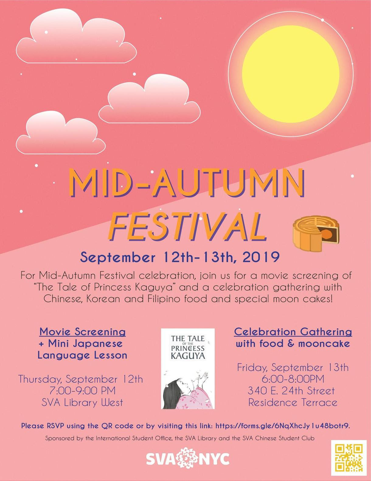 Mid-Autumn Festival Film Screening & Mini Japanese Lesson