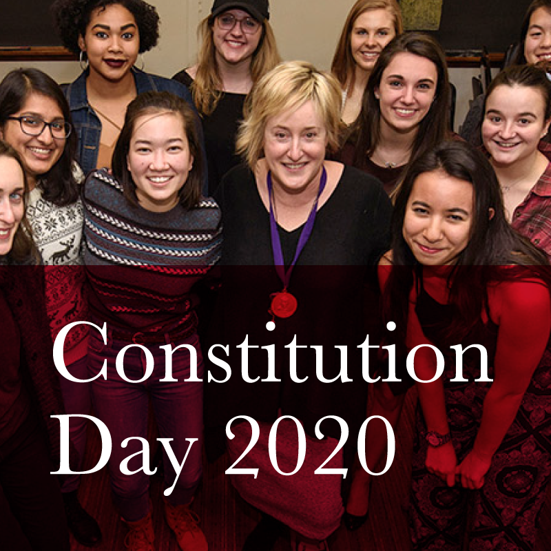Constitution Day 2020: When Women Won the Right to Vote - History, Myth and Memory with Professor Lisa Tetrault