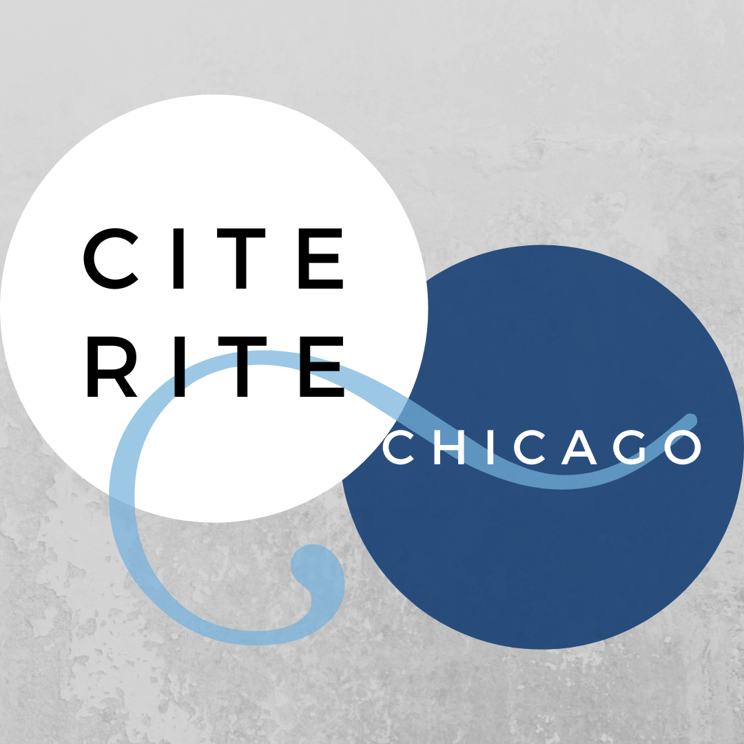 Cite Right Series: Chicago Workshop