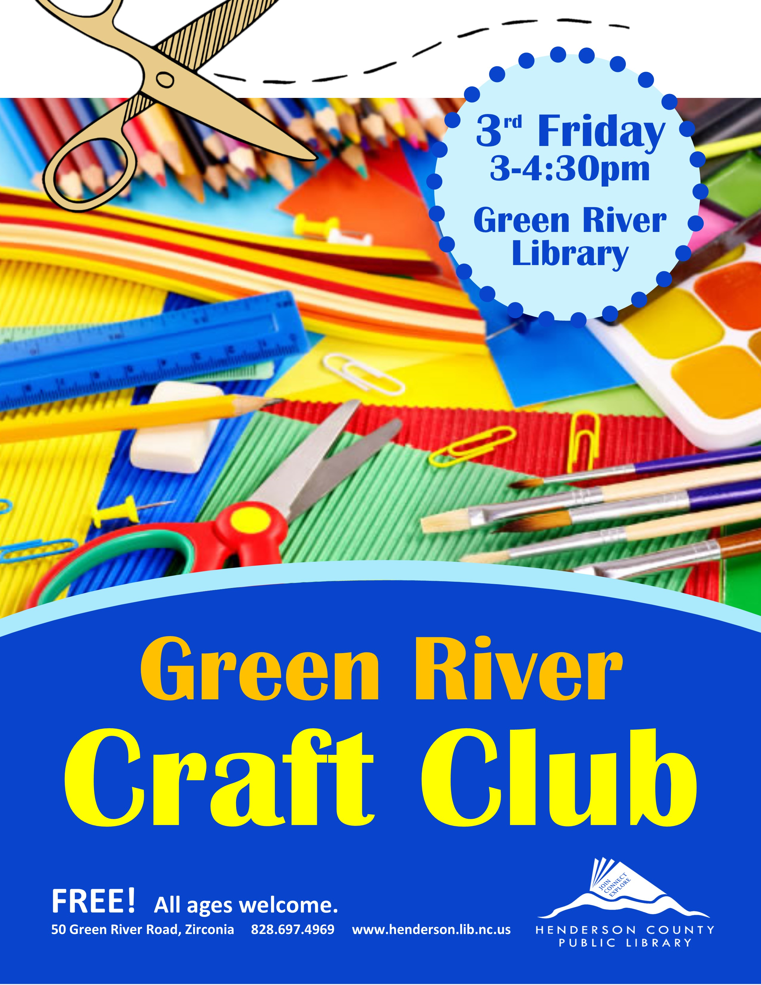 Craft Club @ Green River!
