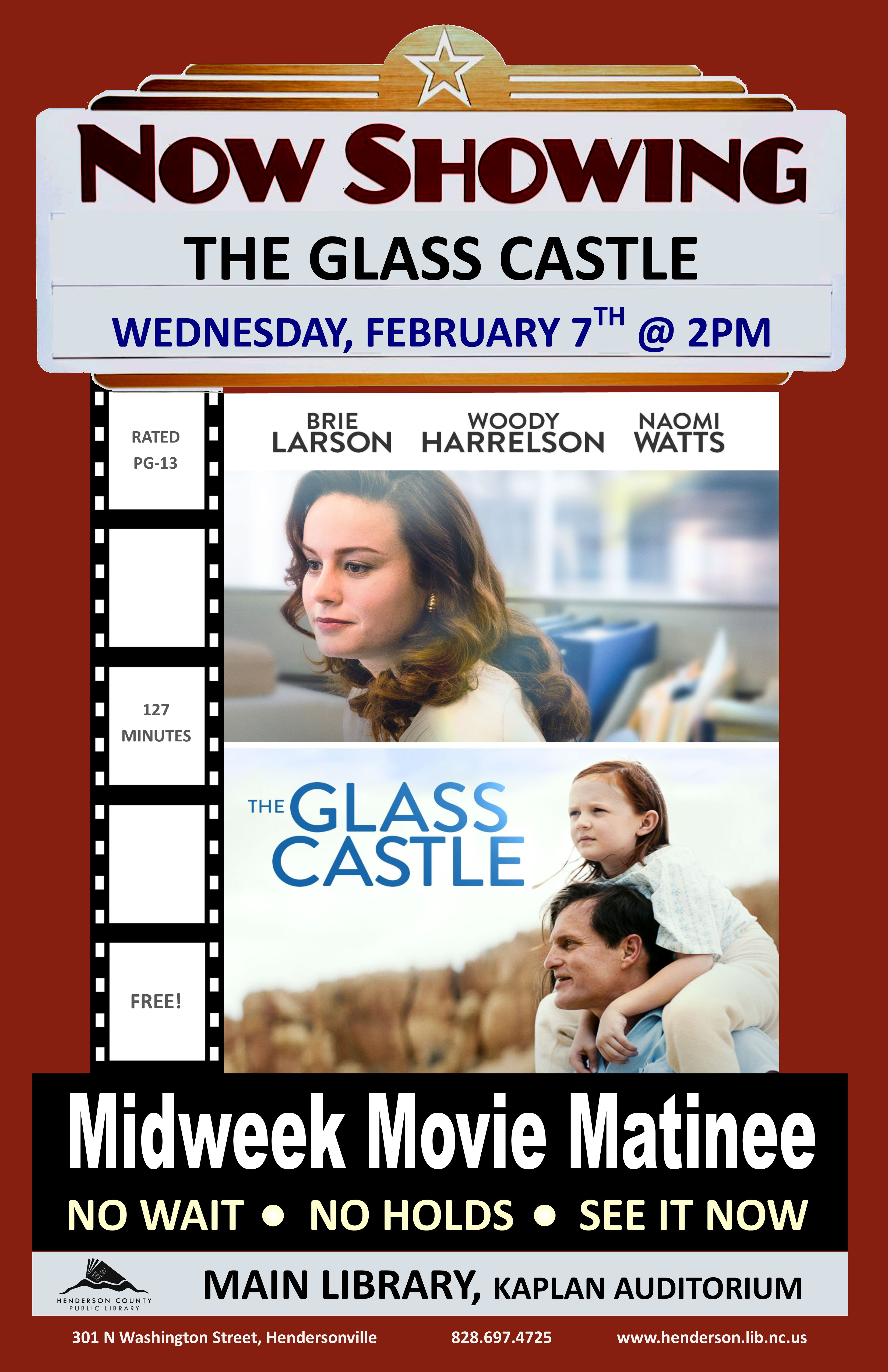 Midweek Matinee:  The Glass Castle