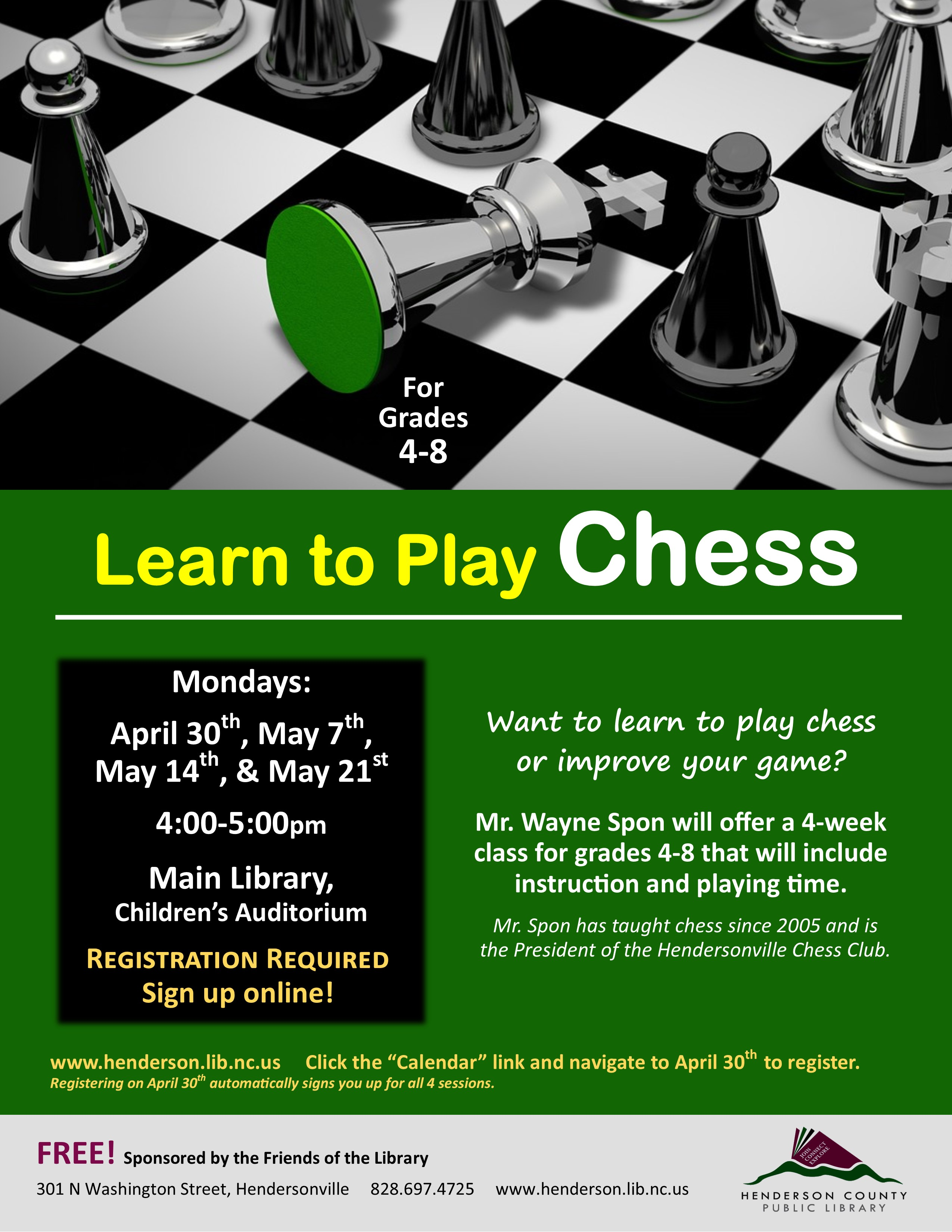 Main Library Learn to Play Chess