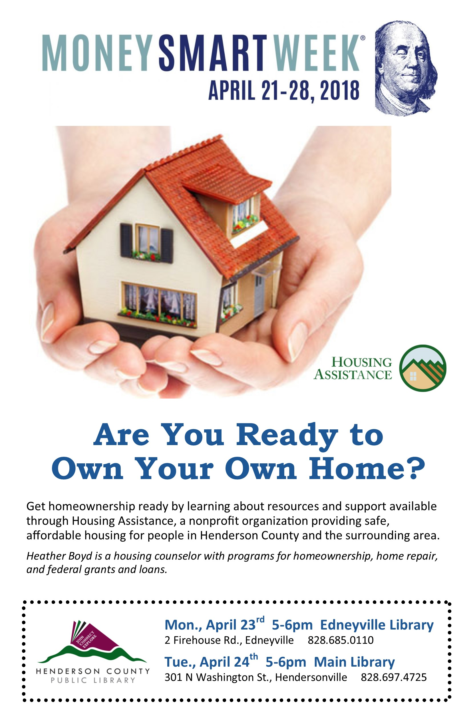 Are You Ready to Own Your Own Home?- Money Smart Week