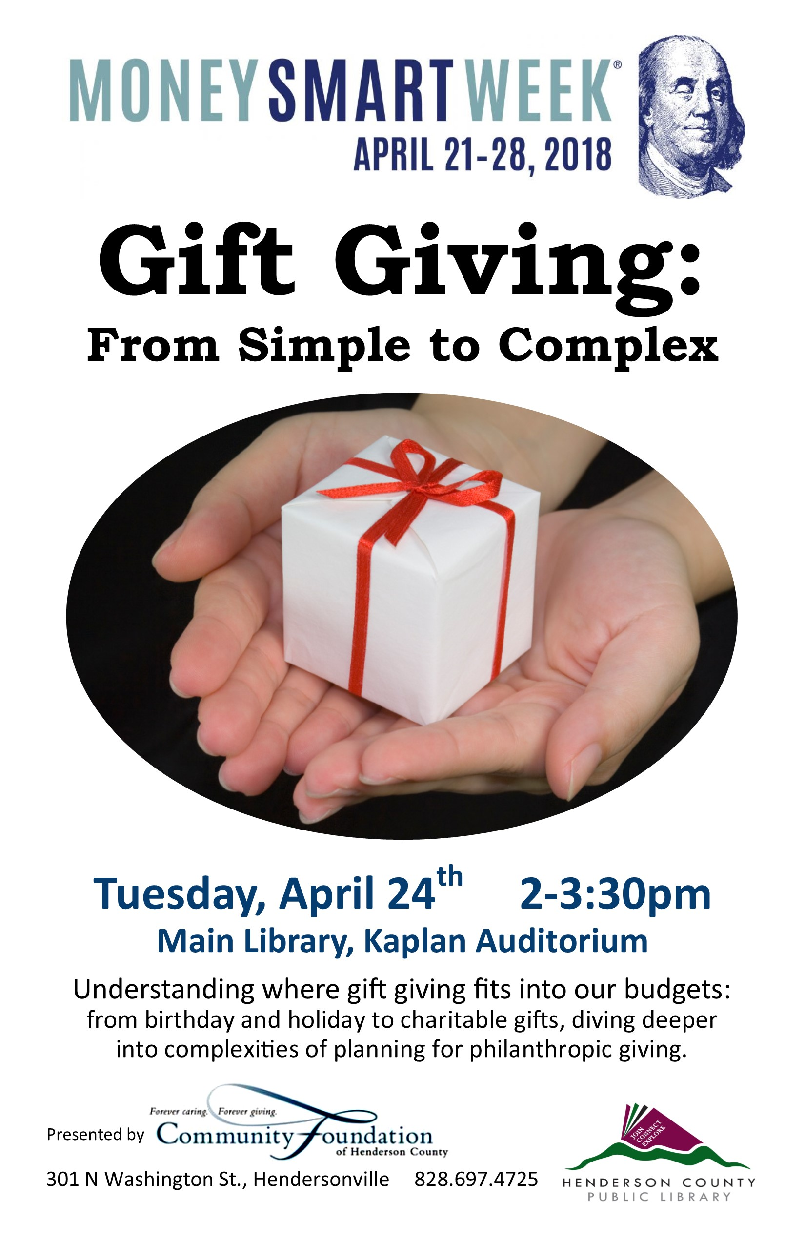 Gift Giving: From Simple to Complex - Money Smart Week