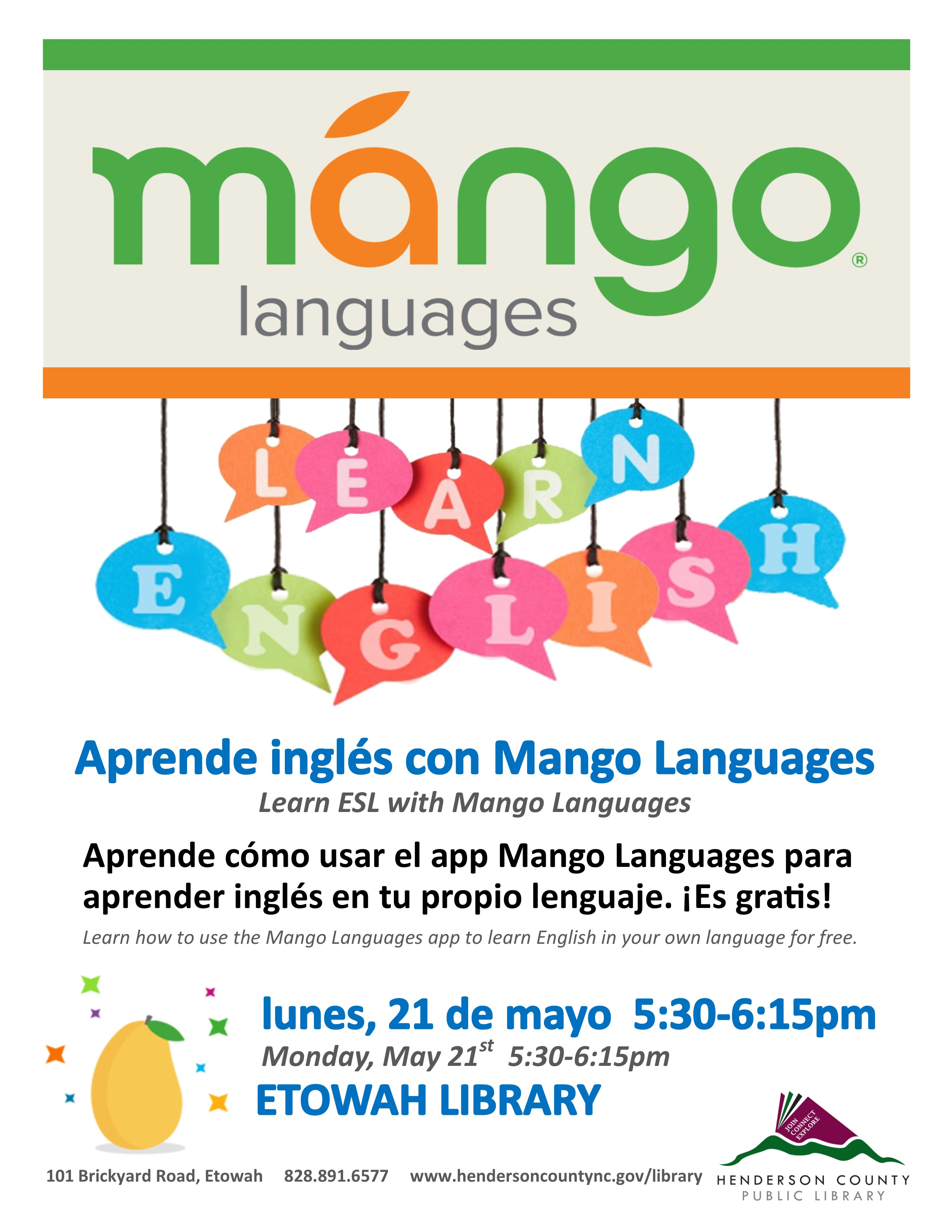 Learn ESL with Mango Languages