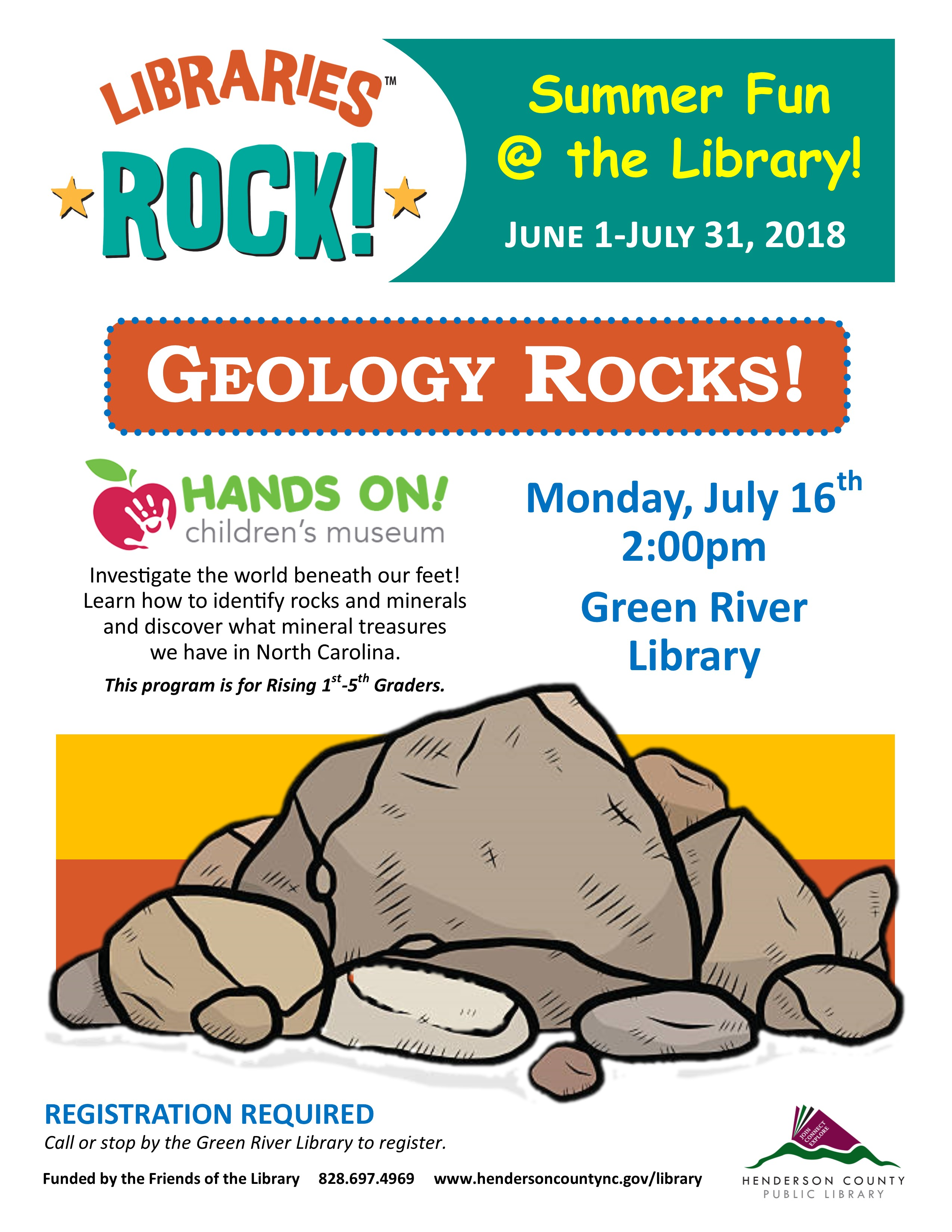 Green River - Hands On! Geology Rocks!