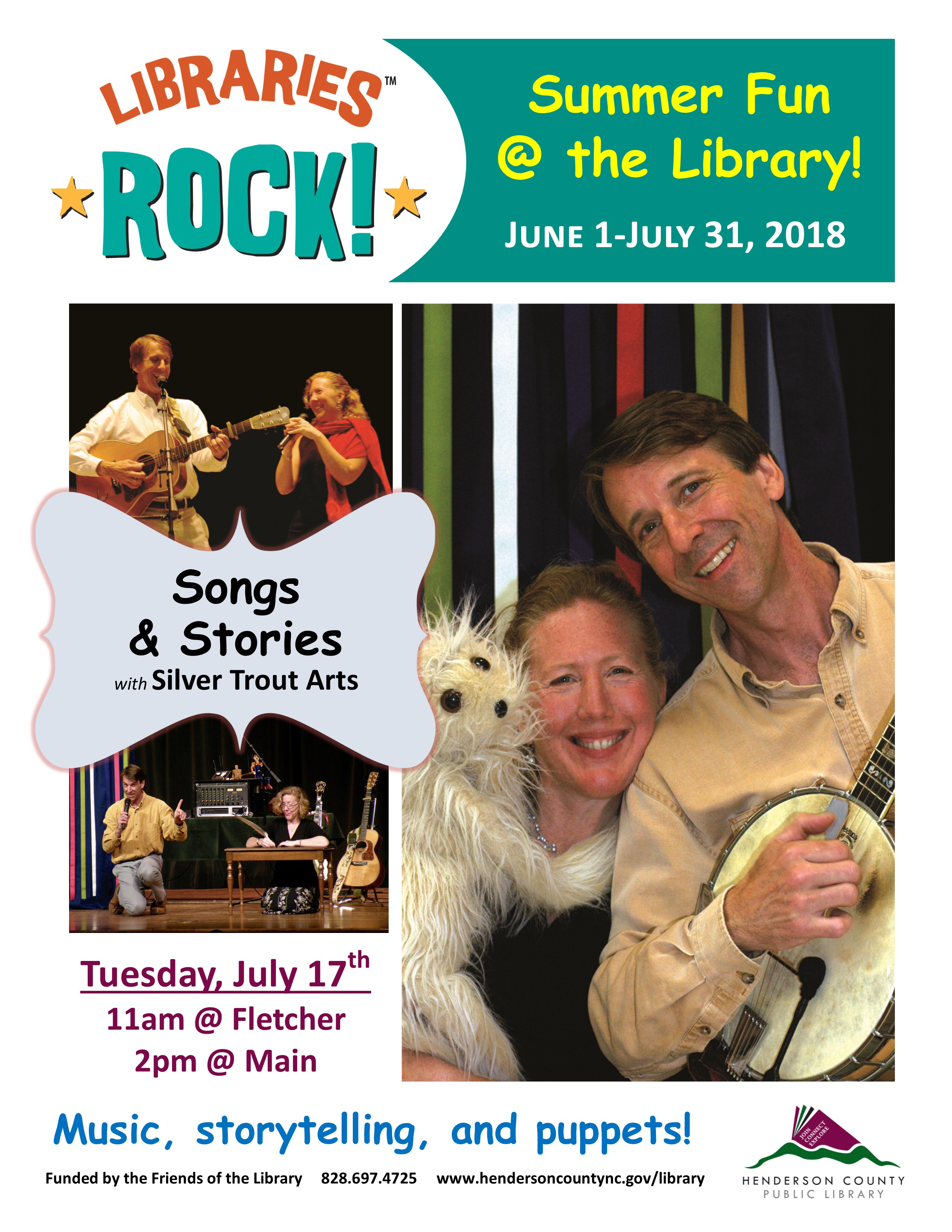 Songs and Stories with Silver Trout Arts