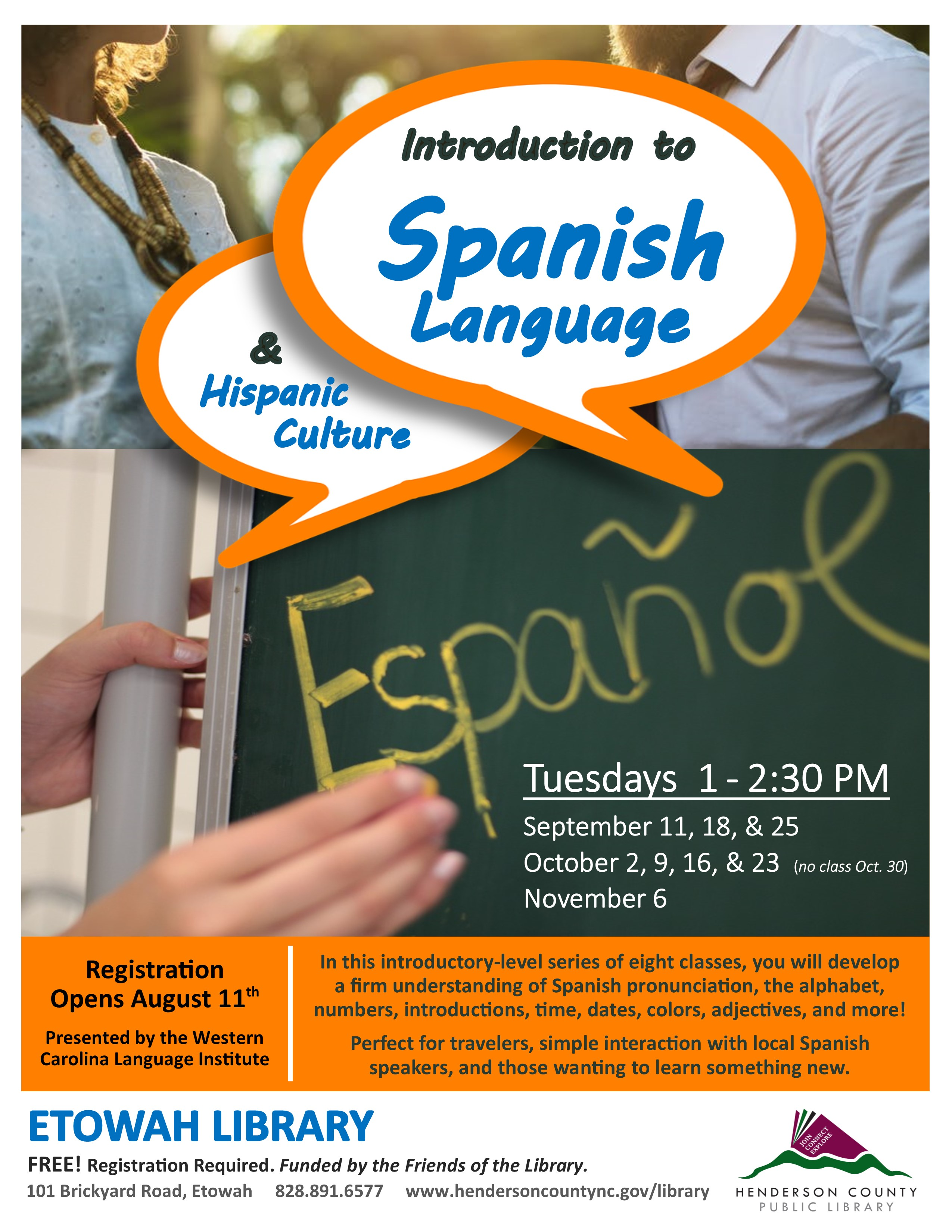 Introduction to Spanish Language and Hispanic Culture