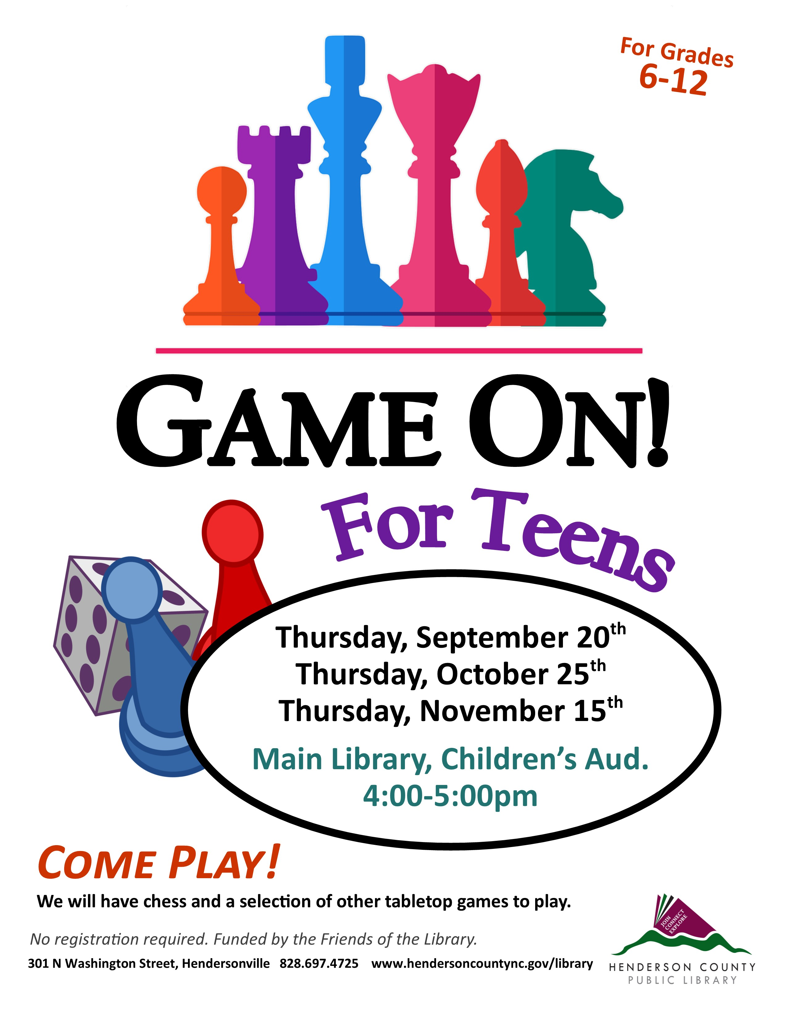 Game On! for Teens
