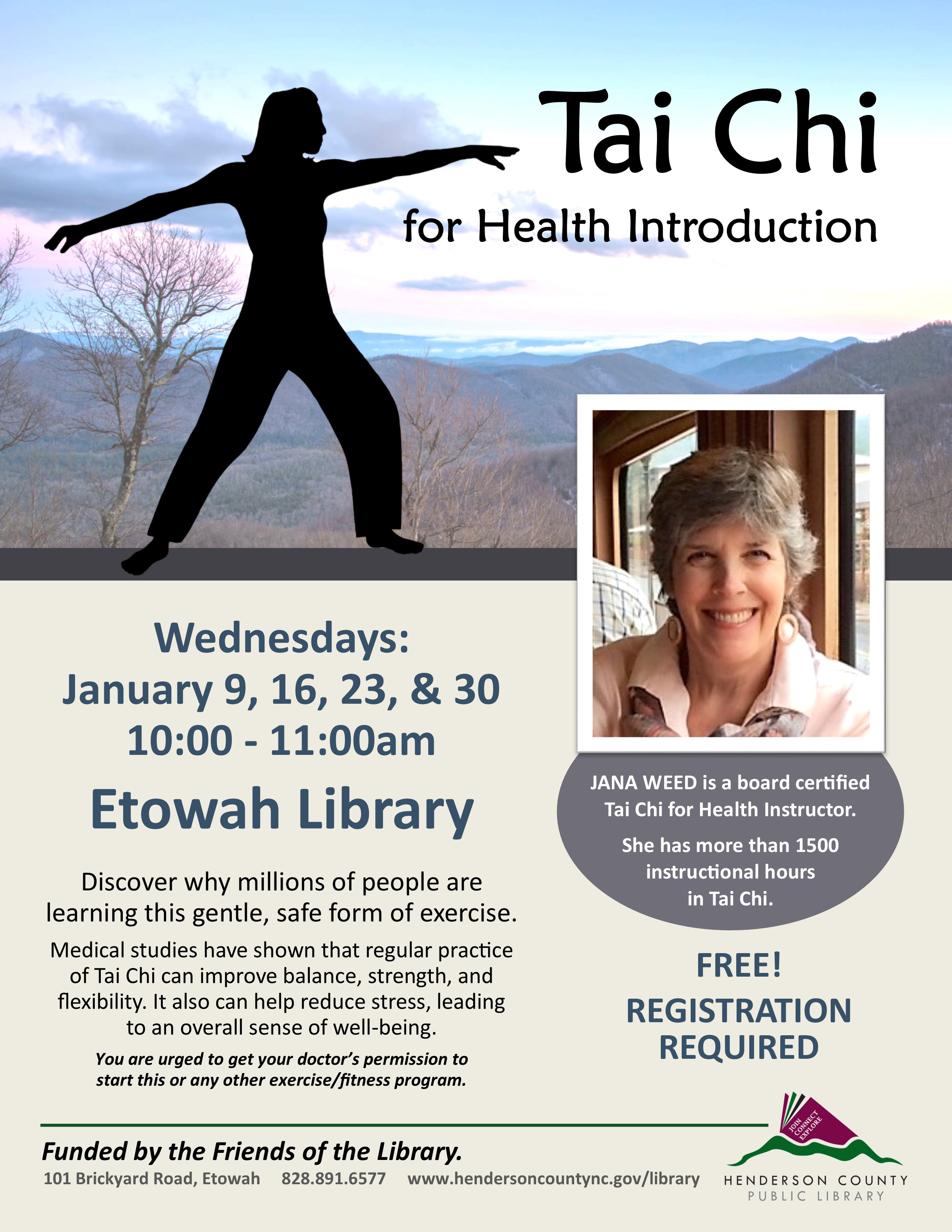 Tai Chi For Health Introduction