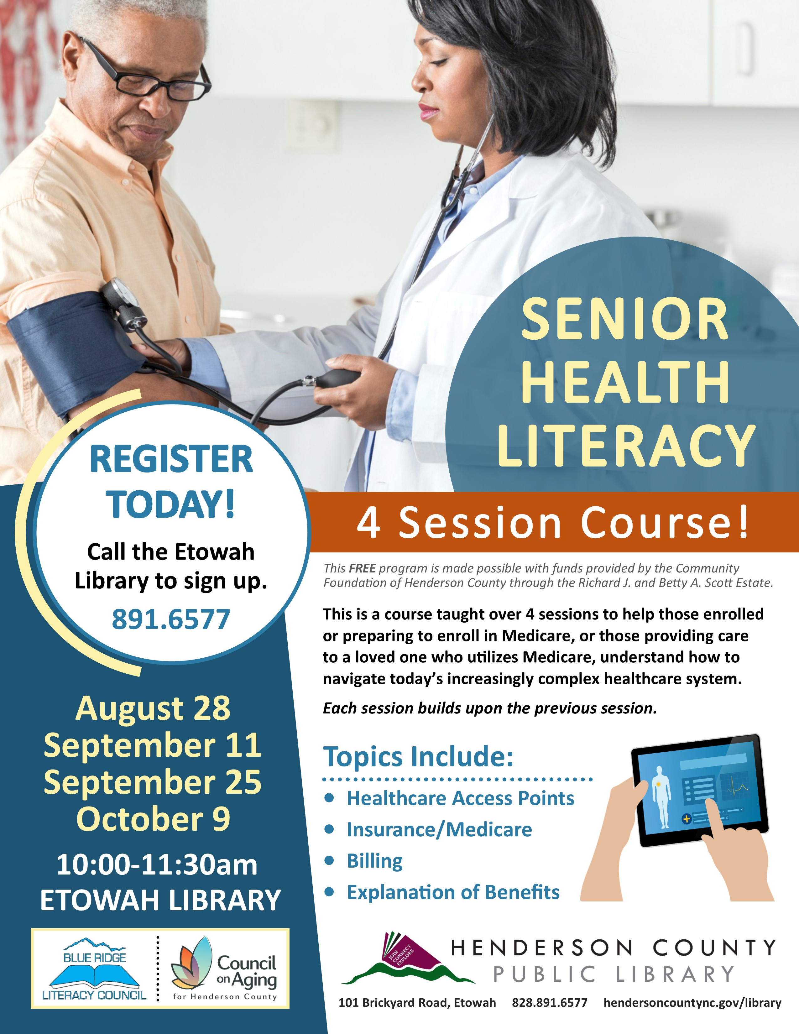 Senior Health Literacy Course