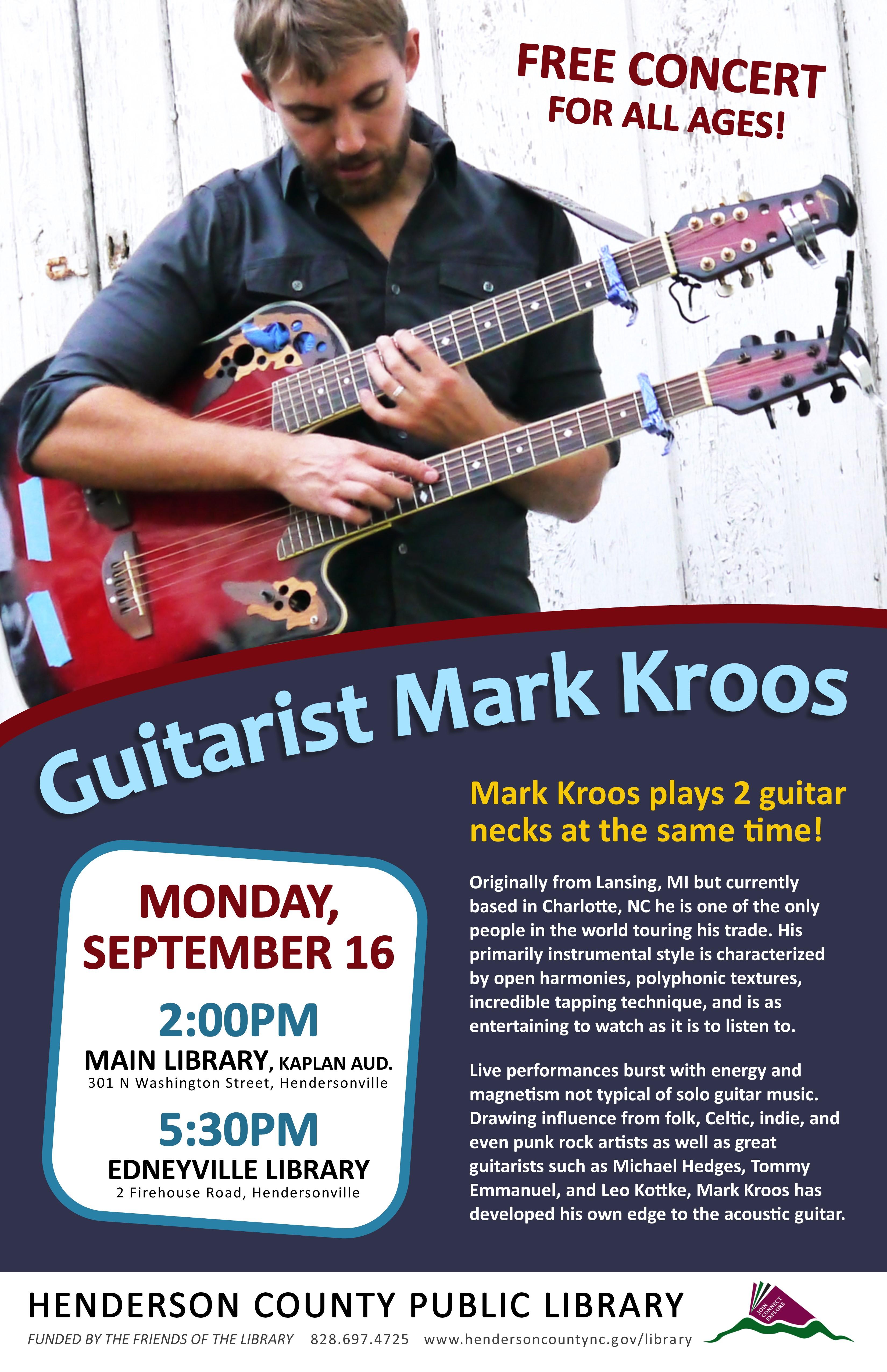 Guitarist Mark Kroos