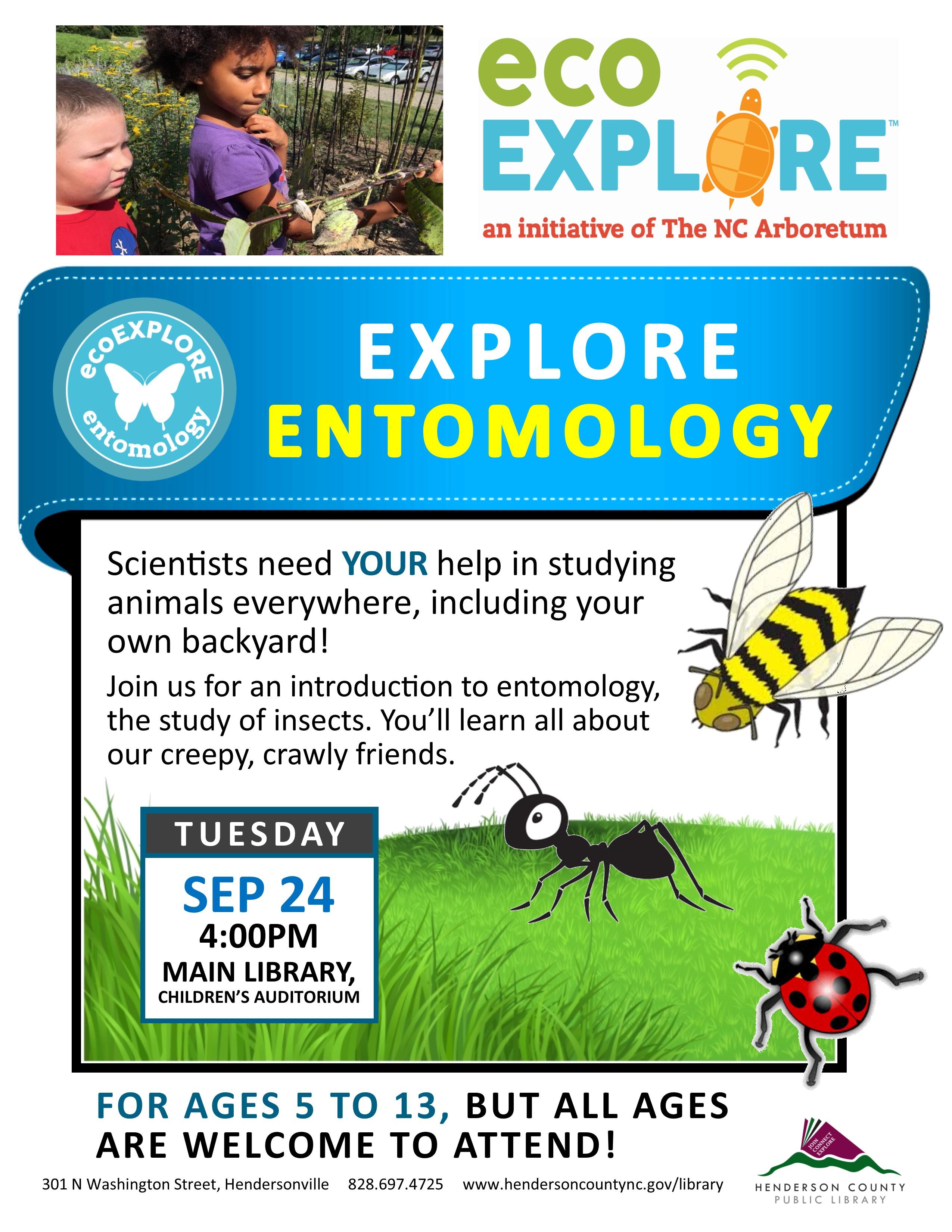 ecoEXPLORE Entomology