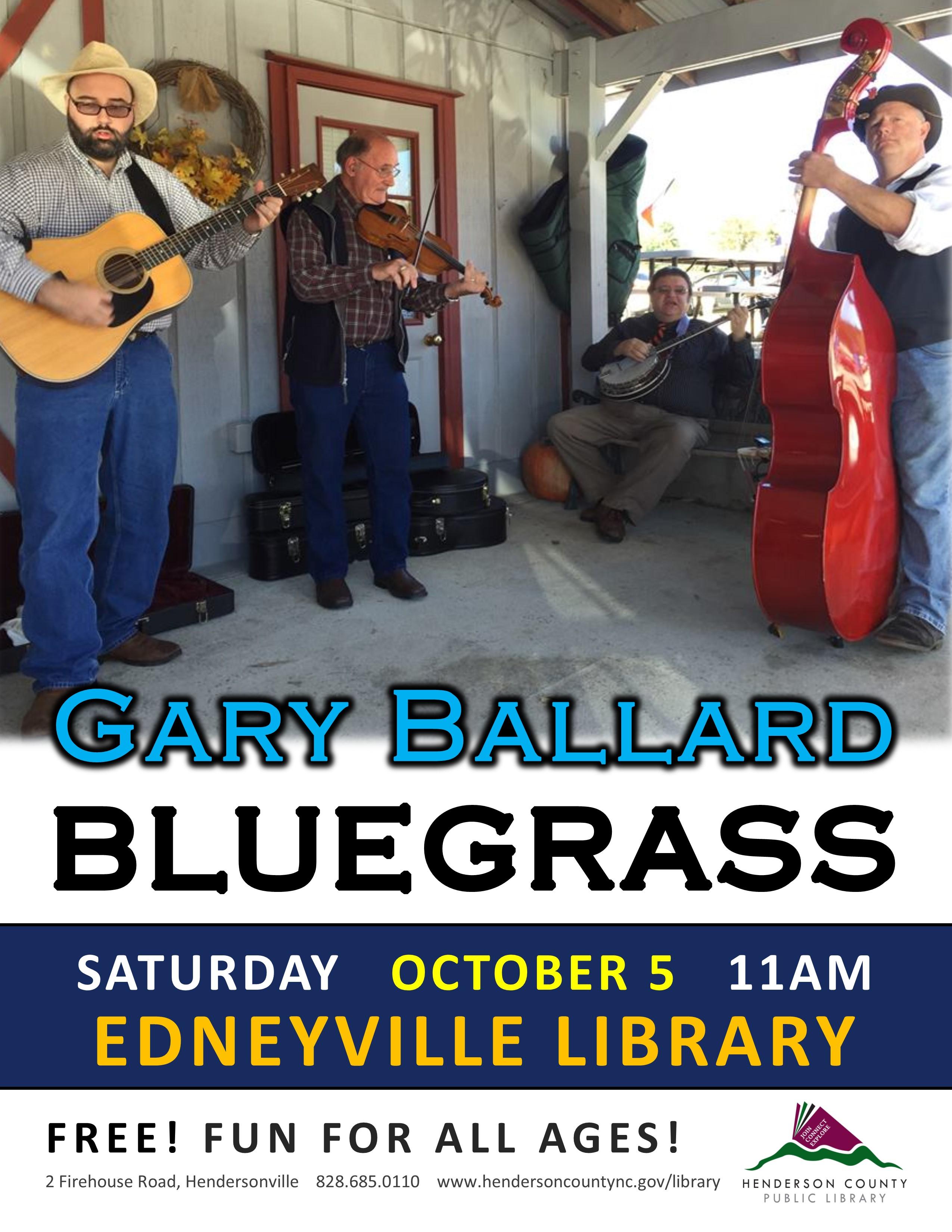 Gary Ballard Bluegrass