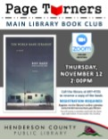 Page Turners: Main Library Book Club