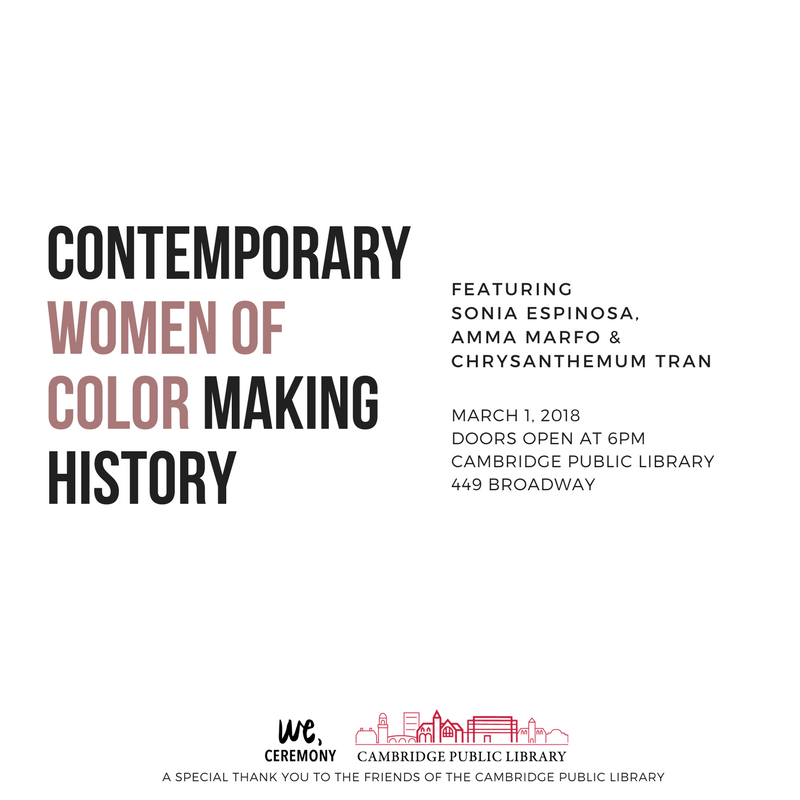 Contemporary Women of Color Making History