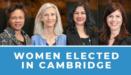 Women Elected in Cambridge
