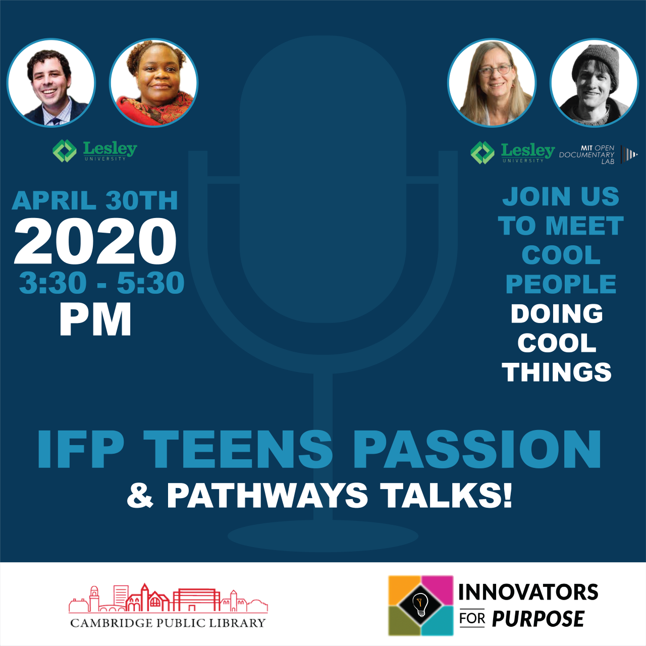 Passion & Pathways: ANewVirtualSeries for Teens