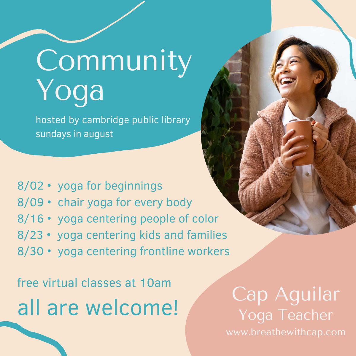 Community Yoga with Cap Aguilar