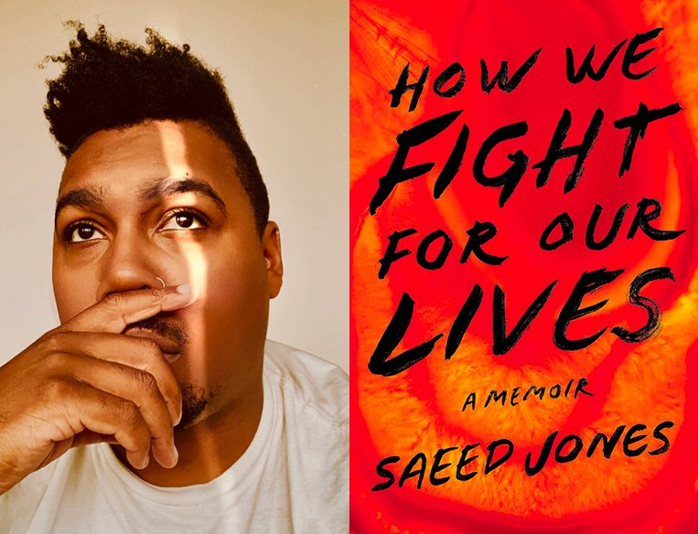 Saeed Jones presents How We Fight for Our Lives in conversation with E. Patrick Johnson