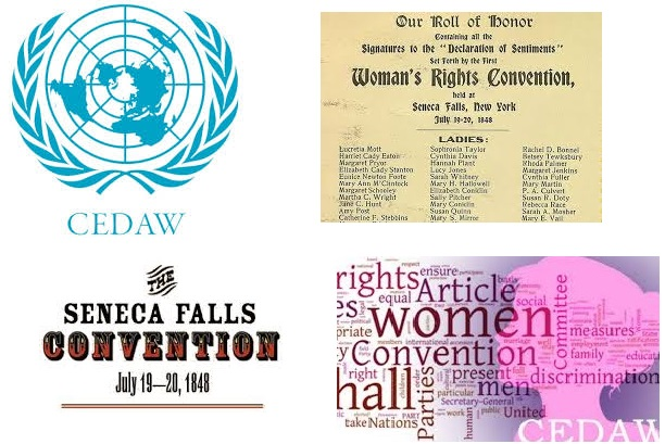 Virtual Communal Reading of the Declaration of Sentiments and the UN Convention on the Prevention of All Forms of Discrimination Against Women