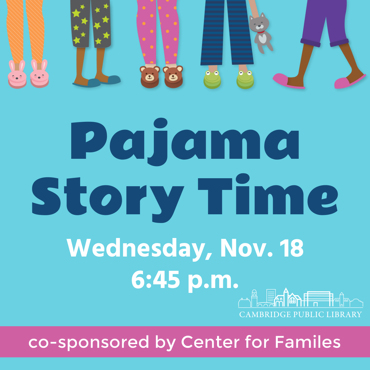 Virtual Pajama Story Time