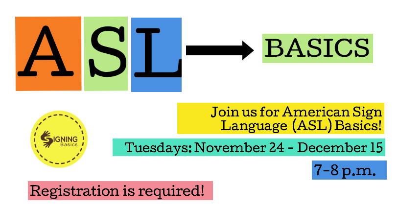 Beginners American Sign Language (ASL) class with SIGNING Basics