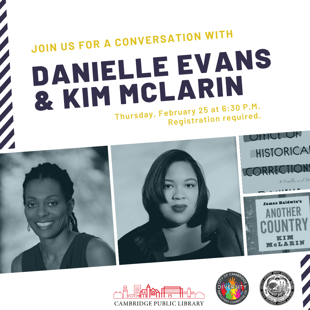 Black History Month Featured Event: Celebrated Author Danielle Evans in Conversation with Kim McLarin