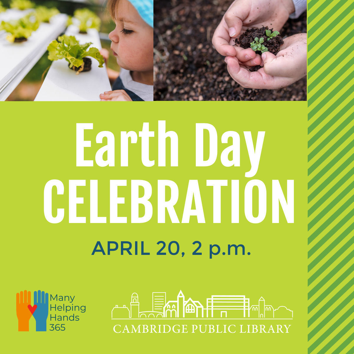 Vacation Week Program: Earth Day Celebration