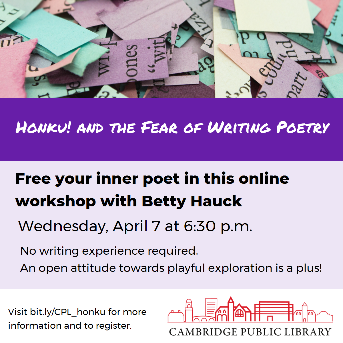 Honku! and the Fear of Writing Poetry