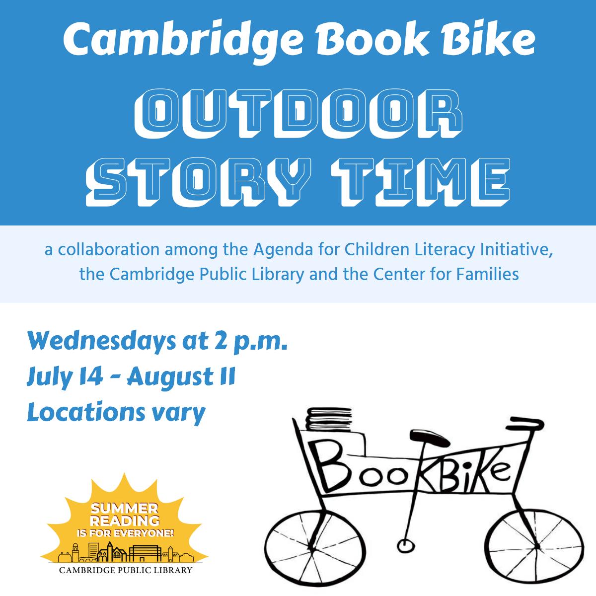 Cambridge Book Bike Story Time