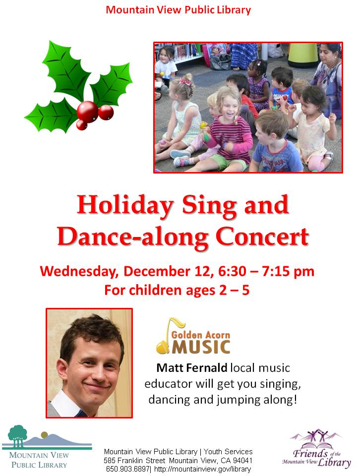 Holiday Sing and Dance-along Concert