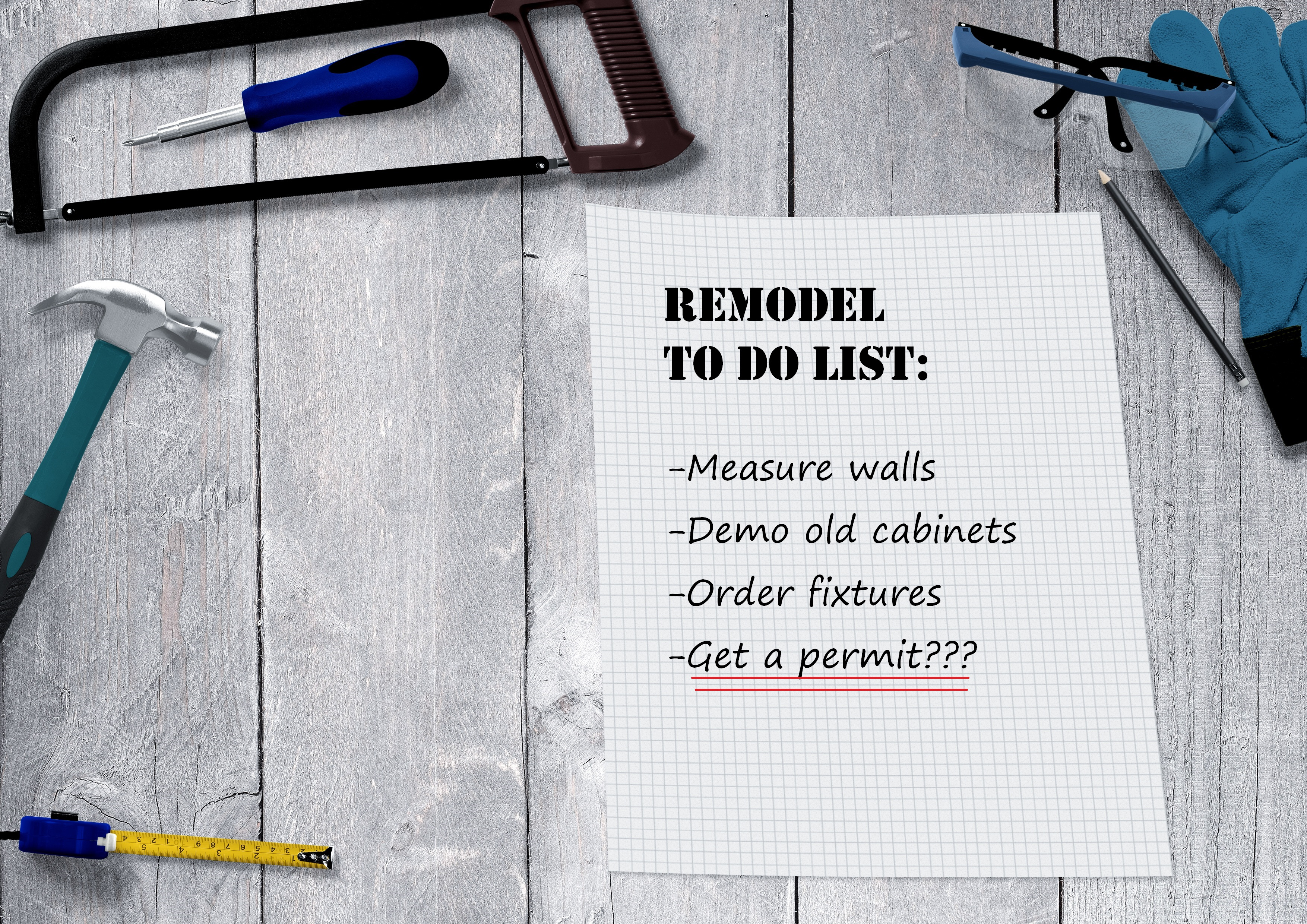 Remodeling in Mountain View: When you need a building permit and when you don't.