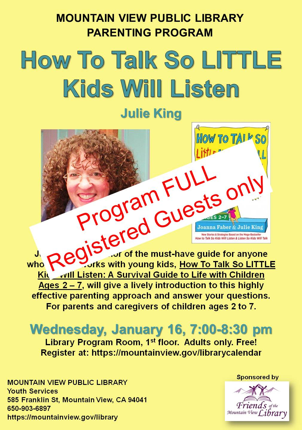 Program FULL: How To Talk So Little Kids Will Listen