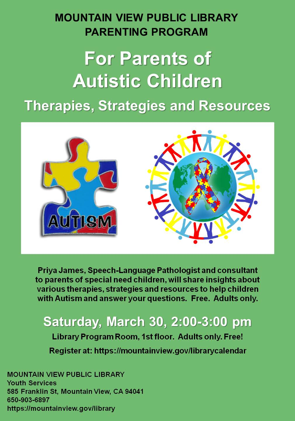 For Parents of Autistic Children: Therapies, Strategies and Resources